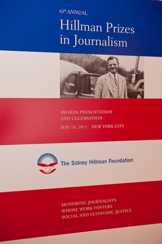 2011 HILLMAN PRIZE FOR BROADCAST JOURNALISM